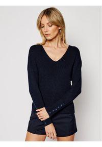 Morgan Sweter 211-MIEN Granatowy Regular Fit. Kolor: niebieski