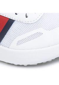 Białe buty sportowe TOMMY HILFIGER
