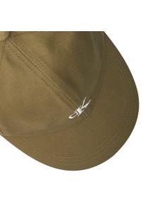 Calvin Klein Jeans - Czapka z daszkiem CALVIN KLEIN JEANS - Monogram Baseball Cap IU0IU00150 M0G. Kolor: zielony. Materiał: bawełna, materiał