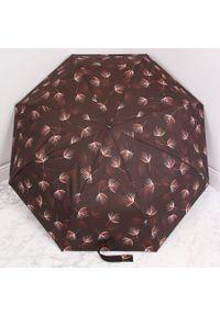 Parasol składany DOPPLER PA162 brązowy. Kolor: brązowy. Materiał: materiał