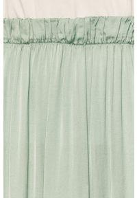 Miętowa spódnica ANSWEAR wakacyjna, na co dzień