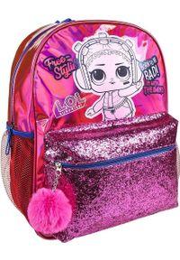 Różowy plecak NoName