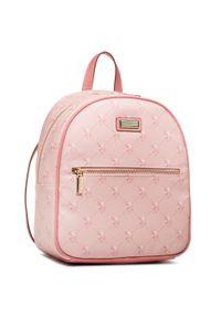 U.S. Polo Assn - Plecak U.S. POLO ASSN. - Hampton BEUHD5154WVG424 Light Rose. Kolor: różowy. Materiał: skóra
