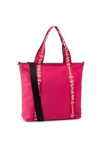 Różowa torebka klasyczna TwinSet klasyczna