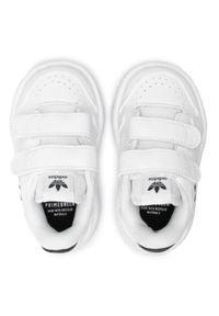 Adidas - Buty adidas - Ny 90 Cf I FY9848 Ftwwht/Cblack/Ftwwht. Okazja: na spacer. Zapięcie: rzepy. Kolor: biały. Materiał: skóra ekologiczna, skóra. Szerokość cholewki: normalna