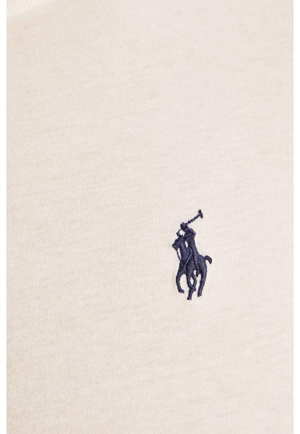 Biała koszulka z długim rękawem Polo Ralph Lauren polo