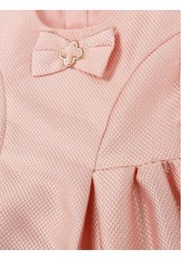 Różowa sukienka wizytowa Mayoral