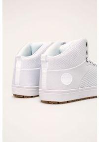 Białe sneakersy Big-Star z cholewką
