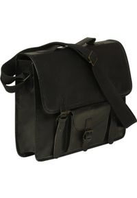 Czarna torba na laptopa vidaXL