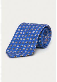 Polo Ralph Lauren - Krawat. Kolor: niebieski. Materiał: materiał