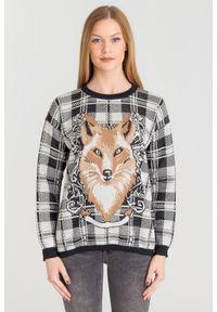 Sweter TwinSet z długim rękawem, na spacer