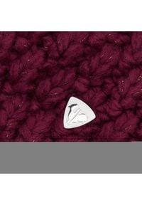 Rossignol - Czapka ROSSIGNOL - RLIYH11U Dark Plum 373. Kolor: czerwony. Materiał: włókno, akryl, poliester, materiał. Sezon: zima