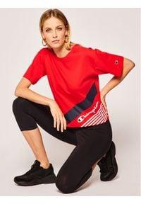 Champion T-Shirt 112765 Czerwony Regular Fit. Kolor: czerwony