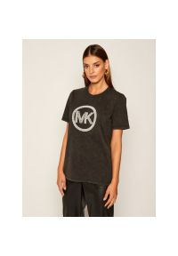 Szary t-shirt Michael Kors