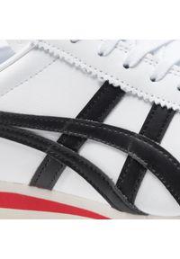 Onitsuka Tiger - Sneakersy ONITSUKA TIGER - Tiger Corsair 1183B397 White/Black 101. Okazja: na co dzień. Kolor: biały. Materiał: skóra, skóra ekologiczna, materiał. Szerokość cholewki: normalna. Styl: klasyczny, sportowy, casual