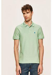 Zielona koszulka polo Izod krótka, polo