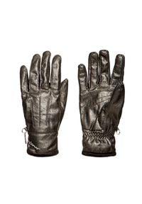 Ziener - Rękawiczki ZIENER ISALA. Materiał: skóra ekologiczna. Wzór: nadruk. Sezon: zima. Styl: klasyczny, elegancki
