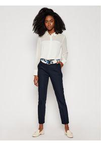 Niebieskie spodnie materiałowe Morgan De Toi