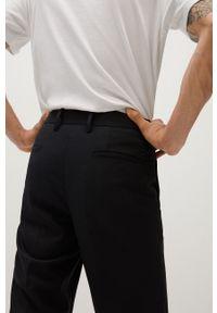 Czarne spodnie Mango Man