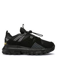 CATerpillar - Sneakersy CATERPILLAR - Raider S O CK264121 Black. Okazja: na spacer. Kolor: czarny. Materiał: skóra, materiał. Szerokość cholewki: normalna