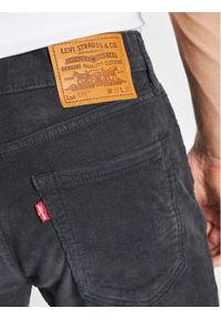 Levi's® Spodnie materiałowe 511™ Szary Slim Fit. Kolor: szary. Materiał: materiał