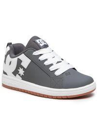 DC Sneakersy Court Graffik ADBS100207 Szary. Kolor: szary