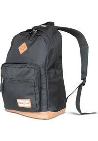 Czarny plecak na laptopa Goodyear