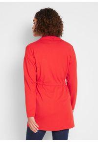 Bluza rozpinana z tunelem, z kolekcji Maite Kelly bonprix truskawkowy. Kolor: czerwony