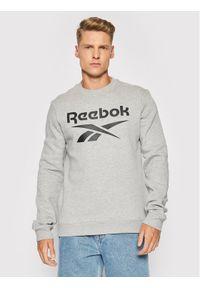 Reebok Bluza GS1619 Szary Regular Fit. Kolor: szary