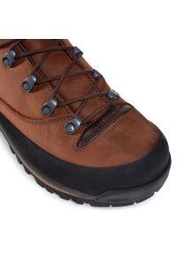 Brązowe buty trekkingowe Aku z cholewką, trekkingowe