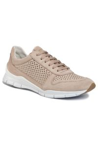Geox Sneakersy D Suke B D02F2B 00022 C6738 Beżowy. Kolor: beżowy