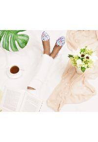 Baleriny Zapato bez zapięcia, wąskie, klasyczne, w kolorowe wzory
