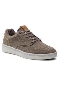 Wrangler Sneakersy Micky WM11030A Brązowy. Kolor: brązowy