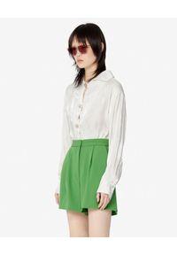 Zielone szorty Kenzo krótkie, na lato, eleganckie