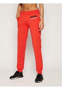 Czerwone spodnie dresowe Moschino Underwear & Swim