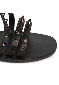 Czarne sandały Aldo na co dzień, casualowe
