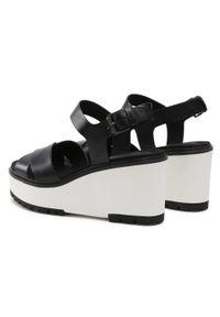 Czarne sandały Timberland casualowe, na co dzień