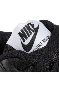 Czarne buty sportowe Nike z cholewką, Nike Court, na co dzień