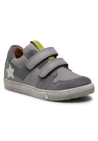 Froddo - Sneakersy FRODDO - G2130230-3 D Light Grey. Okazja: na spacer, na co dzień. Zapięcie: rzepy. Kolor: szary. Materiał: skóra, zamsz. Szerokość cholewki: normalna. Styl: casual