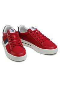 U.S. Polo Assn - Sneakersy U.S. POLO ASSN. - Vega141 VEGA4141S1/LT1 Red. Okazja: na co dzień. Kolor: czerwony. Materiał: skóra ekologiczna, materiał. Szerokość cholewki: normalna. Styl: casual, klasyczny #4