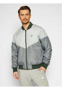 Nike Kurtka bomber Sportswear CZ9998 Szary Loose Fit. Kolor: szary