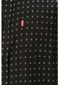 Czarna koszula Levi's® z krótkim rękawem, krótka, casualowa