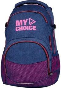 MYBAQ Plecak szkolny Orion różowy. Kolor: różowy
