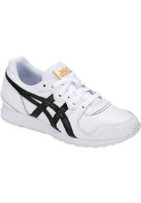 Białe buty sportowe Asics lifestyle z cholewką