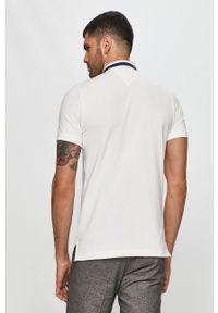 Biała koszulka polo Tommy Jeans polo, na co dzień, casualowa