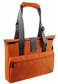 Pomarańczowa torba na laptopa NoName