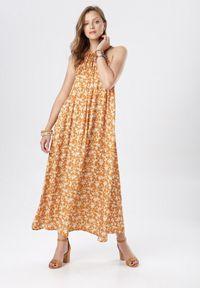 Born2be - Żółta Sukienka Corraleh. Kolor: żółty