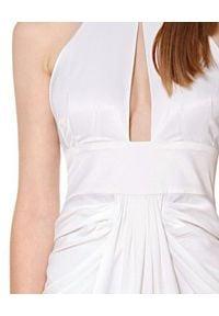 AGGI - Biała sukienka maxi Giulia. Kolor: biały. Styl: wizytowy. Długość: maxi