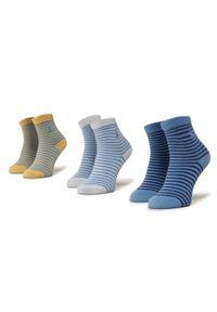 Polo Ralph Lauren Zestaw 3 par wysokich skarpet dziecięcych 441799248001 Niebieski. Kolor: niebieski