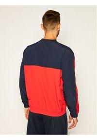 Champion Bluza Colour Block And Stripe Track 214262 Czerwony Custom Fit. Kolor: czerwony